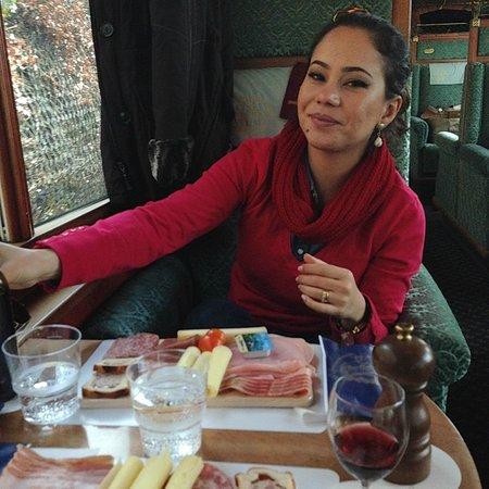 GoldenPass Line : refeição a bordo