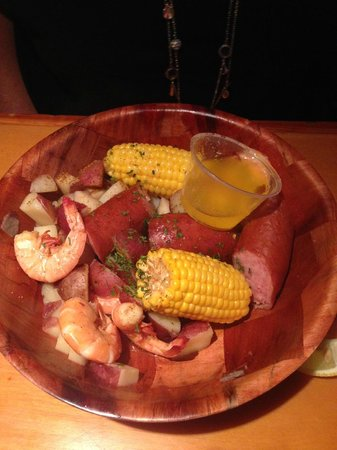 Smokin Oyster Brewery: Shrimp Boil