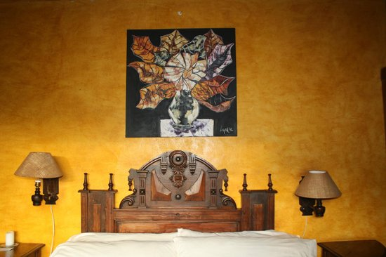 Hacienda Manteles : Our room