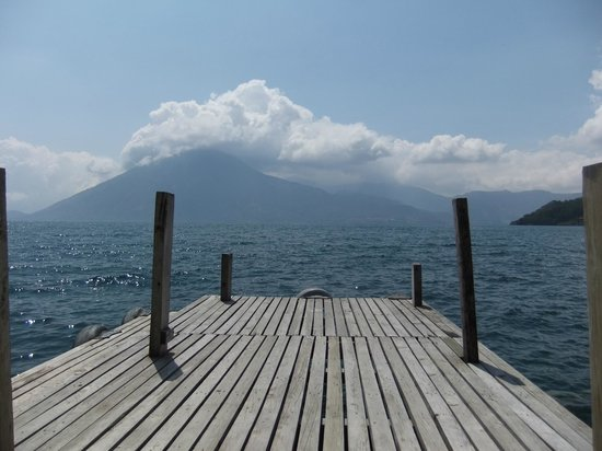 Lomas de Tzununa: View from the Dock