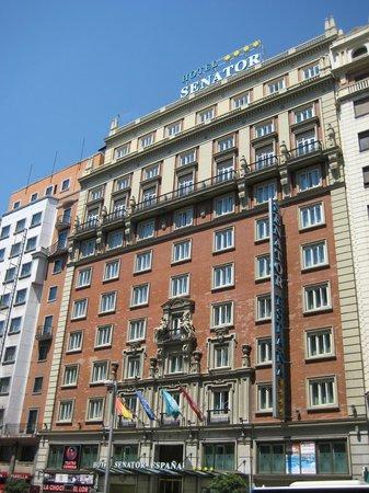 Senator Gran Via 70 Spa Hotel: fachada