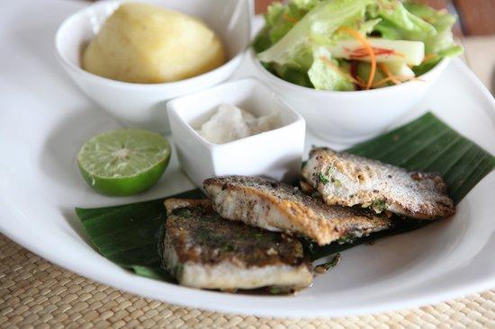 Sea.Fire.Salt: best fish dish