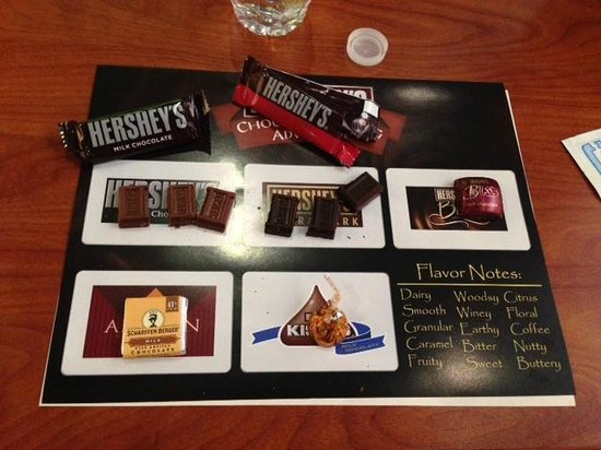 Hershey's Chocolate World : Chocolate Tasting Class