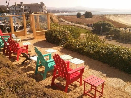 Sam's Chowder House: Snag a seaside seat on one of these colorful adirondacks