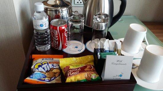 Hotel H2O : Complimentary Basket