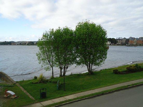 Hotel Cabana del Lago: Vista da nossa janela