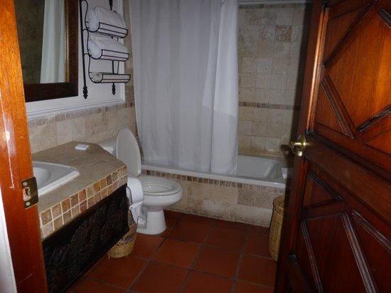 Hotel Posada de Don Rodrigo: Salle de bain