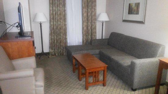 Staybridge Suites Toronto Mississauga: Livingroom