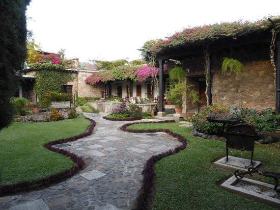 Hotel Posada de Don Rodrigo: jardin de l'hotel
