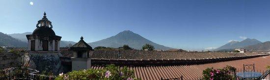 Hotel Posada de Don Rodrigo : vue de la terrasse