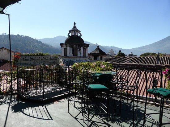 Hotel Posada de Don Rodrigo: Vue de la terrasse