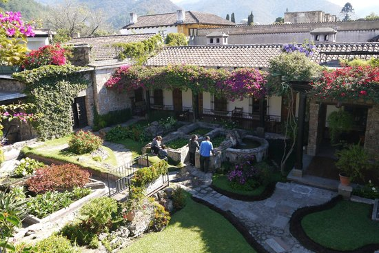 Hotel Posada de Don Rodrigo : les jardins