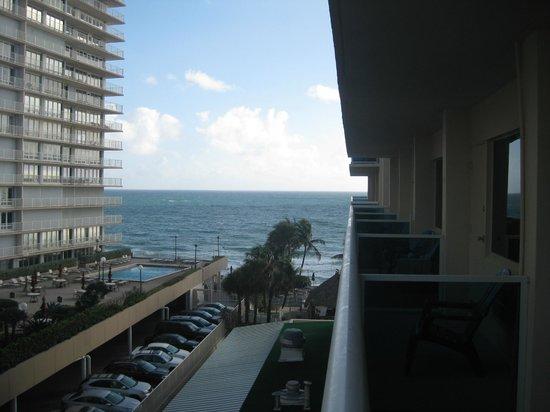 Ocean Sky Hotel & Resort : view from the balcony 5th floor