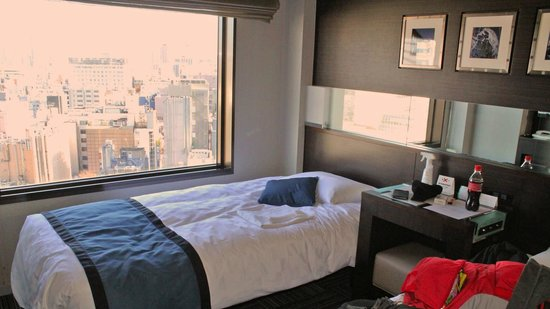 Shinjuku Prince Hotel: My room is facing Kabukicho nightlife area