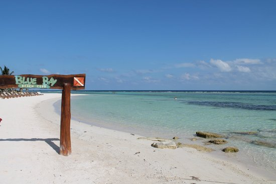 Koox Matan Ka'an Hotel: Caleta del club de playa