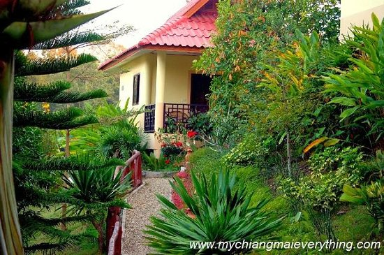 Baan Famui: Our bungalow in the gardens