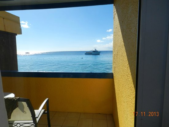 Divi Flamingo Beach Resort and Casino: Vista do nosso quarto