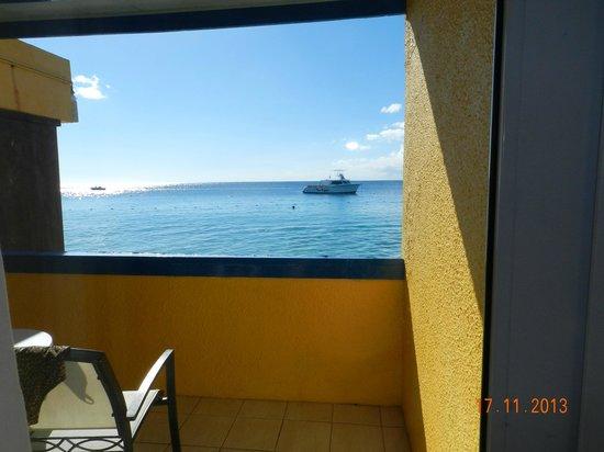 Divi Flamingo Beach Resort and Casino : Vista do nosso quarto