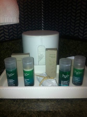 Kinzie Hotel: bathroom items
