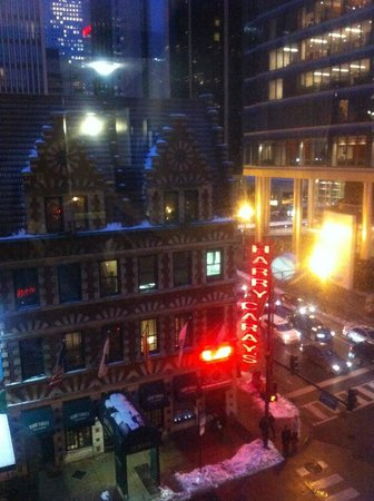 Kinzie Hotel: view from our room