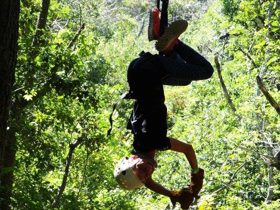 Hacienda Guachipelin : Zip Line/Canopy