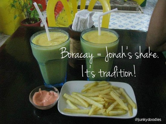 Jonah's Fruit Shake & Snack Bar : It's tradition