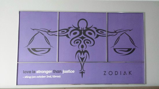 Zodiak @ Cokroaminoto Yogyakarta: Libra on the wall