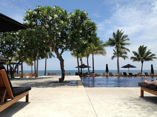 Hilton Fiji Beach Resort & Spa : The gorgeous main pool