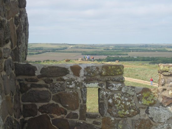 Coronado Heights: view from the top of the castle
