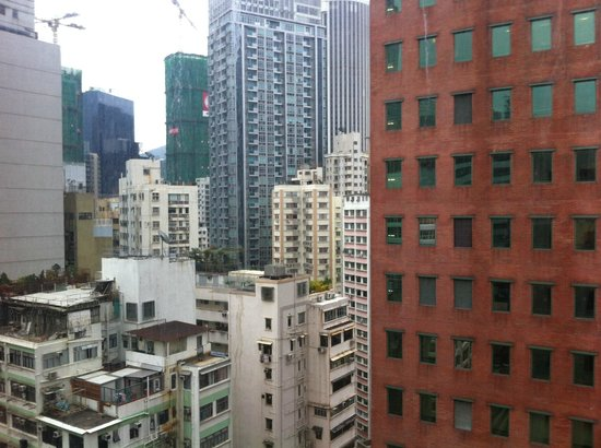 The Empire Hotel Wan Chai: View from my room