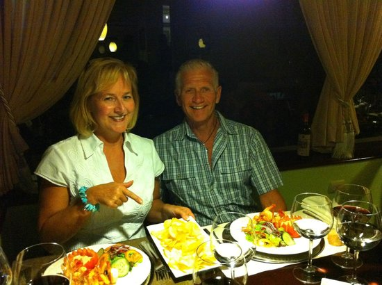 Restaurante La Farola: LOVED the homemade potato chips!!
