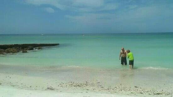 Isla Anna Maria, FL: gorgeous turquoise water at anna maria