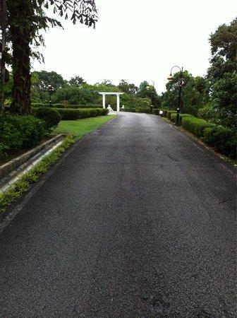 Carcosa Seri Negara: Entering to the park