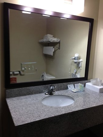 Comfort Inn & Suites : Beautiful bathroom