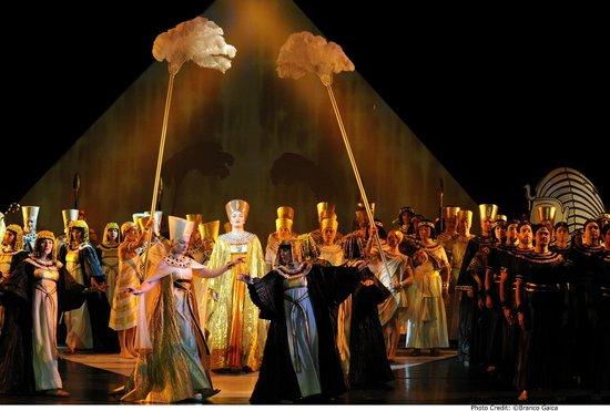 Opera Australia production - Aida