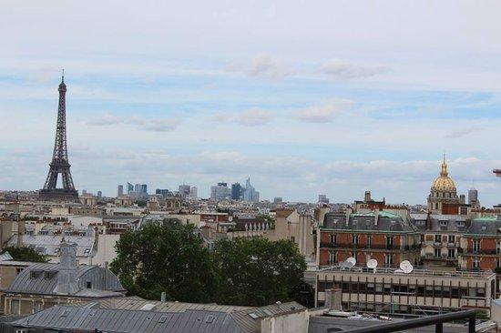 Hôtel Le Littré : View from the balcony