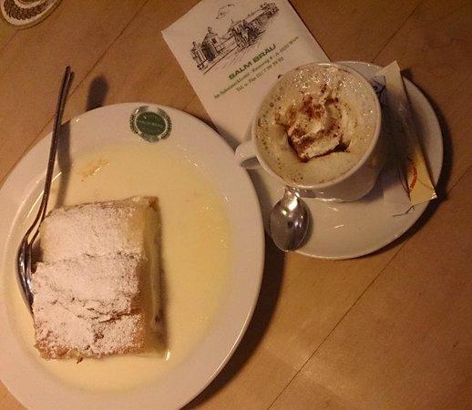 Salm Bräu: Десерт и кофе