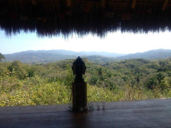 Haramara Retreat: View from Yoga Pavillion