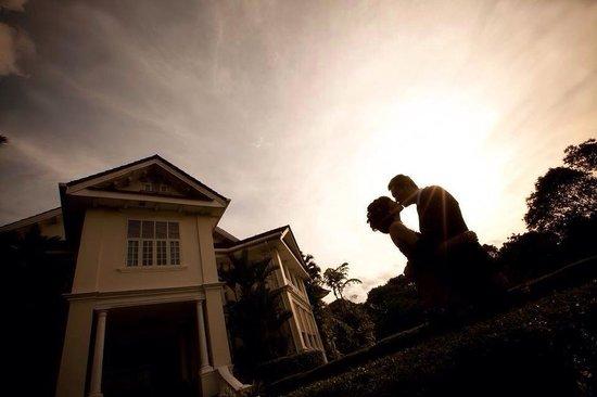 Carcosa Seri Negara: Me & my wife...