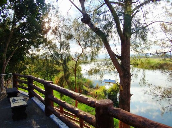 Rio Grande de Laoag Resort and Hotel : Wake up to this view every morning.