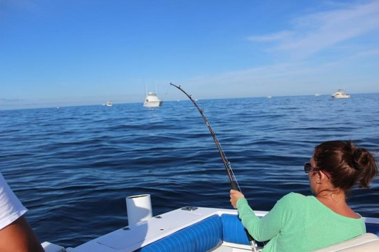 Fish On - Private Charters : 90#