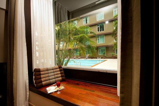 Dynasty Grande Hotel: Bay window