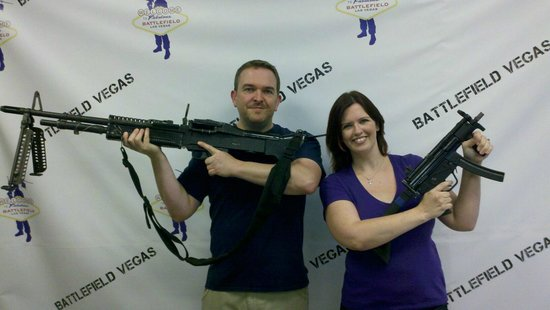 Battlefield Vegas: the M60 and Mp5