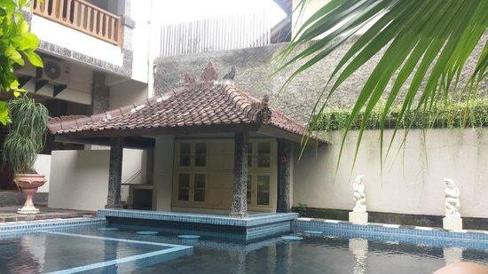 Taman Rosani Hotel & Villa: Pool Bar
