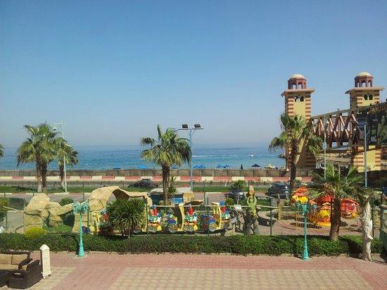 Porto Sokhna Beach Resort : My balcony view