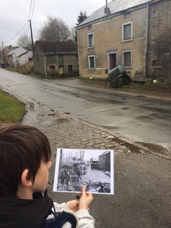 Battle of the Bulge Guided Tours : past and present