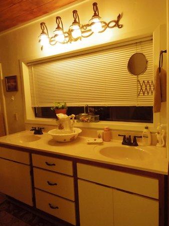 Sedona Bear Lodge: bathroom
