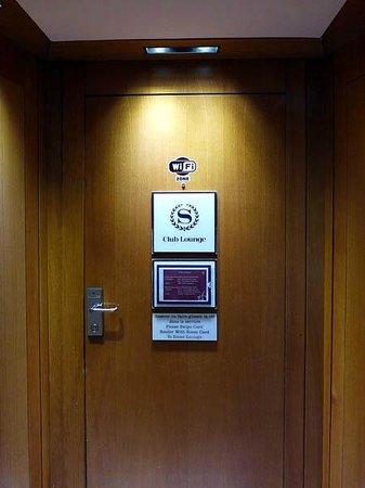 Sheraton Paris Airport Hotel & Conference Centre : Club lounge entrance