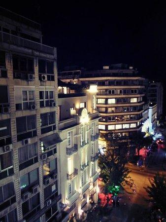 City Hotel Thessaloniki: the night from my balcony