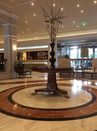 Hilton Cyprus: reception